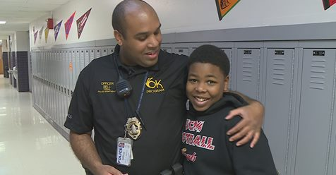 - Thank you Officer Bell!!http://www.wibw.com/…/Salute-the-Badge-Officer-sets-no-boun…