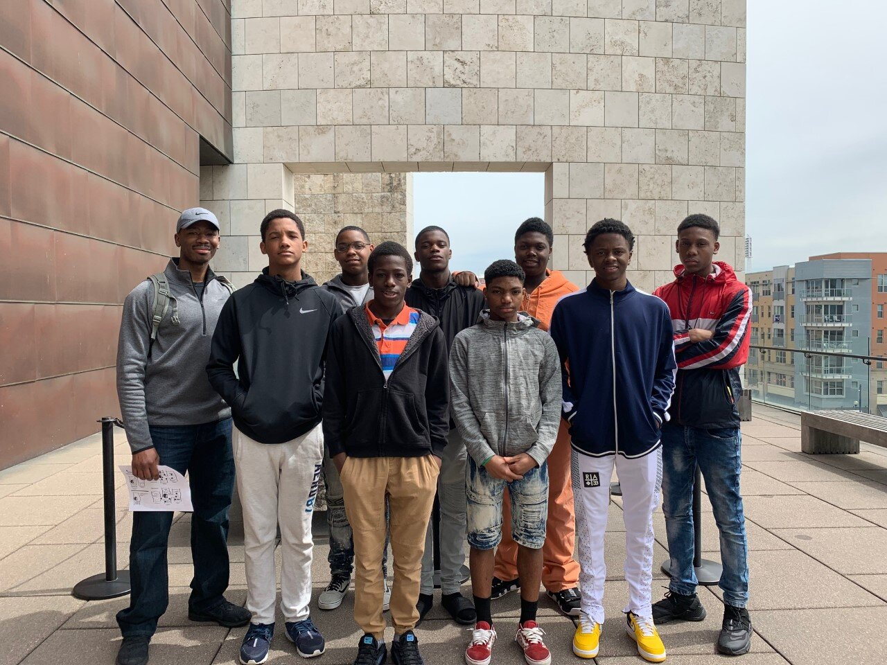 - Officer Keyes and the boys at the National Underground Railroad Freedom Museum in Cincinnati, OH