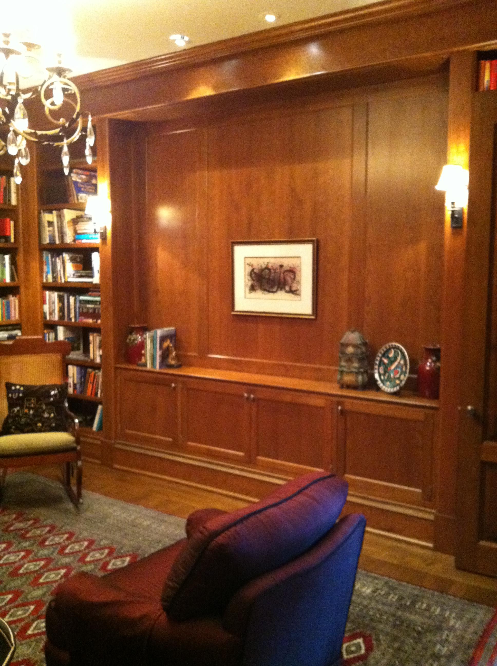 Reynolds library TV down.JPG