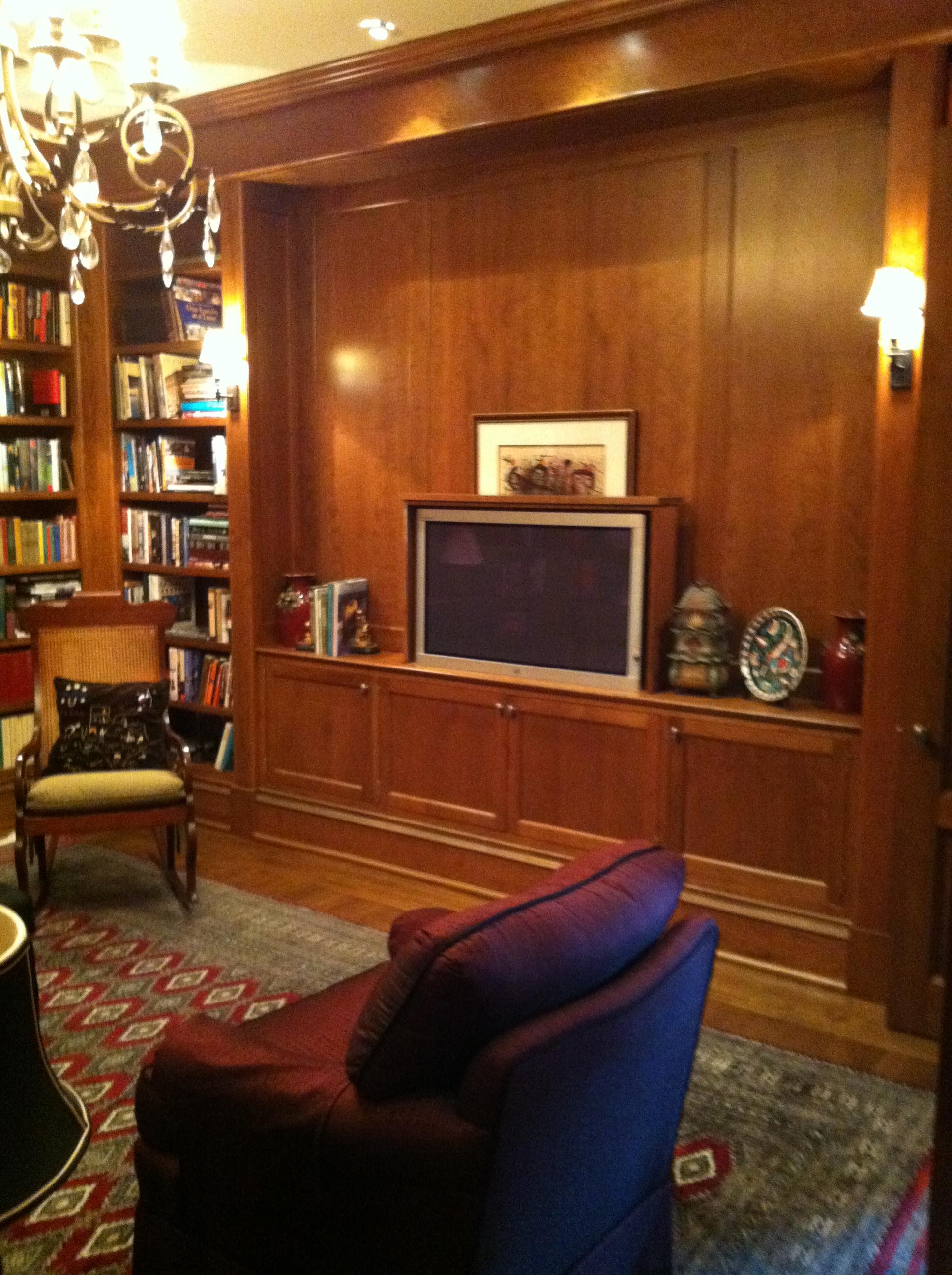 Reynolds library TV up.JPG