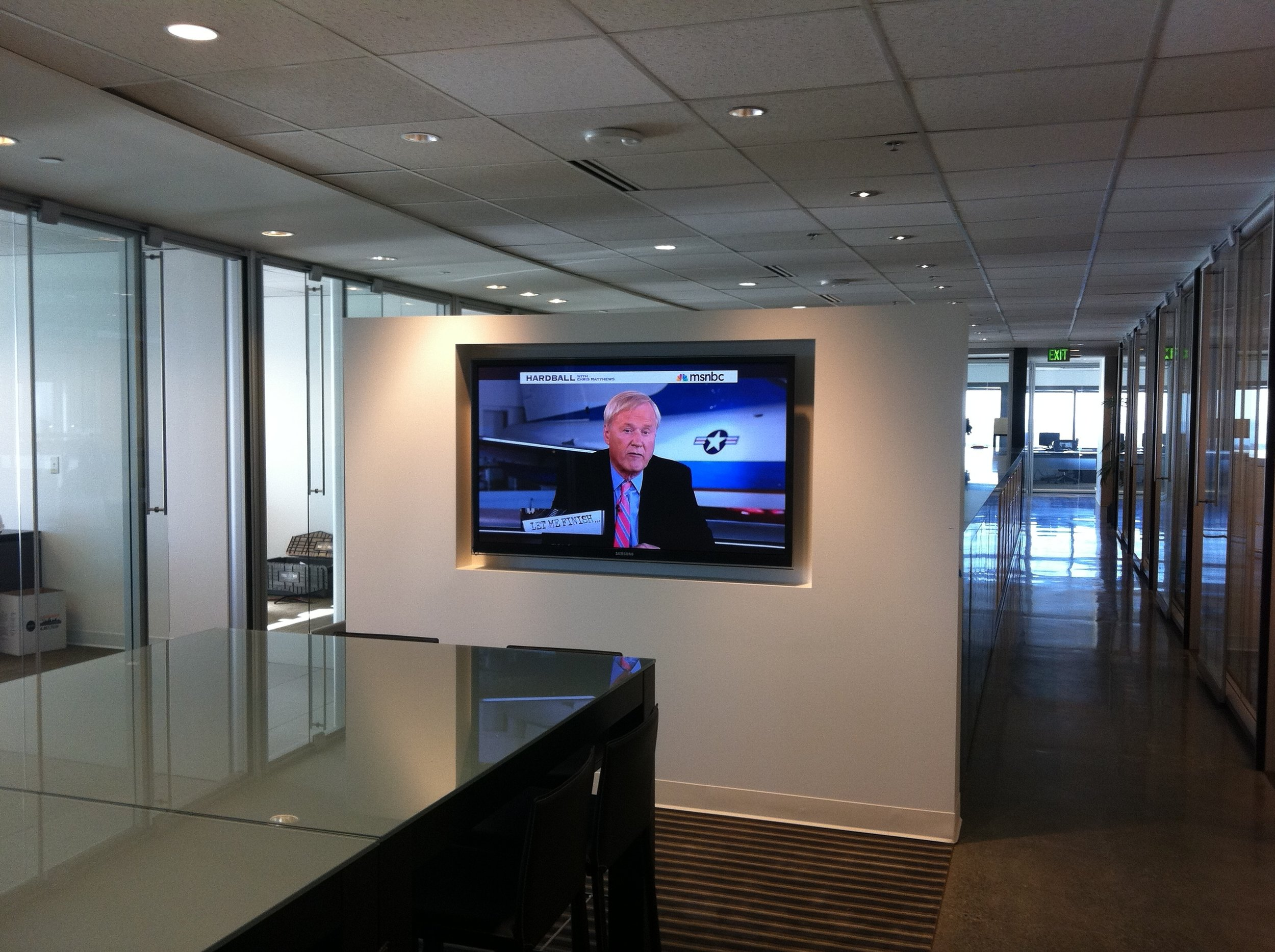 Corporate office spaces with entertainment!