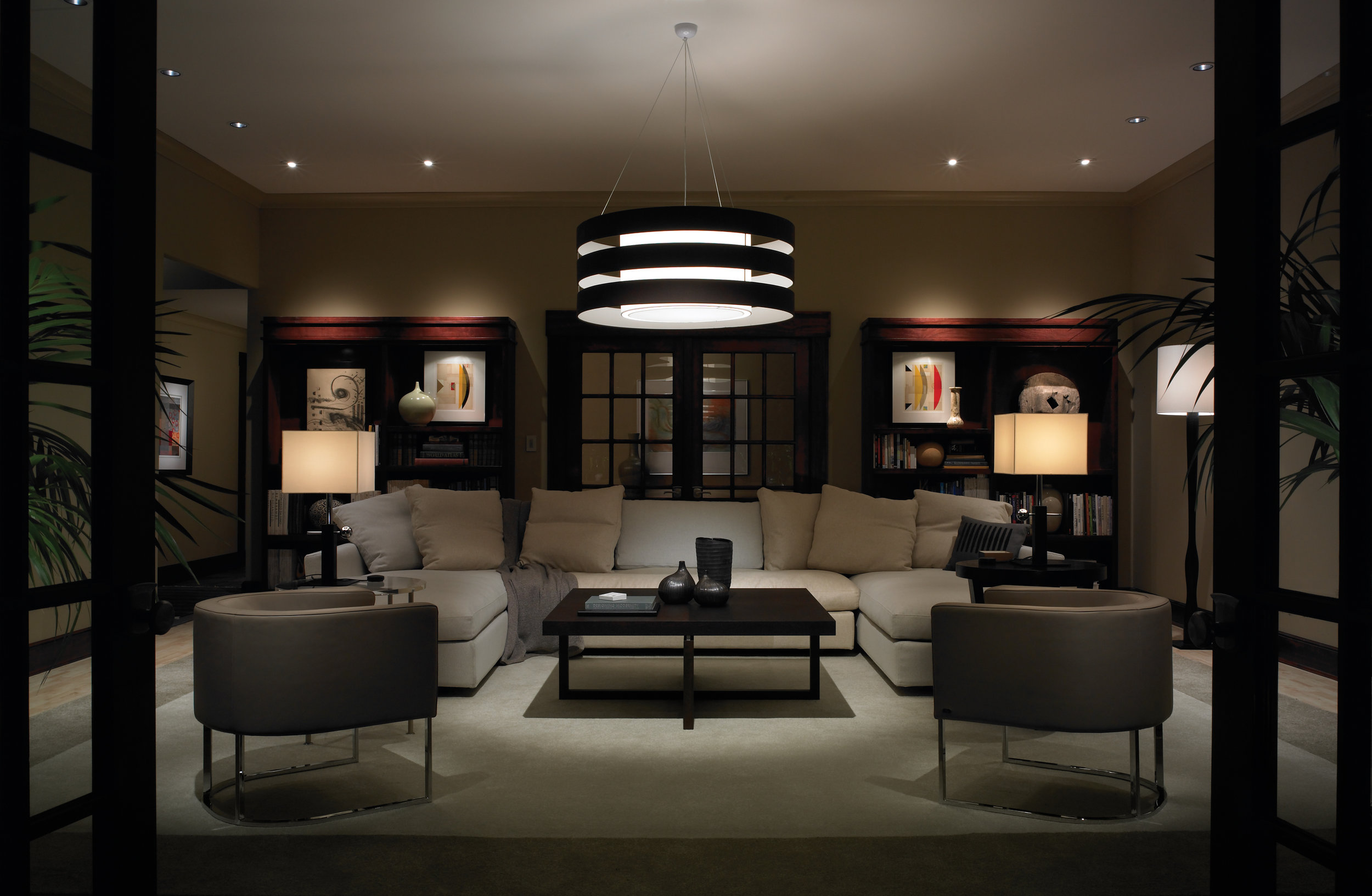 Lighting and intelligent control make your spaces more enjoyable.