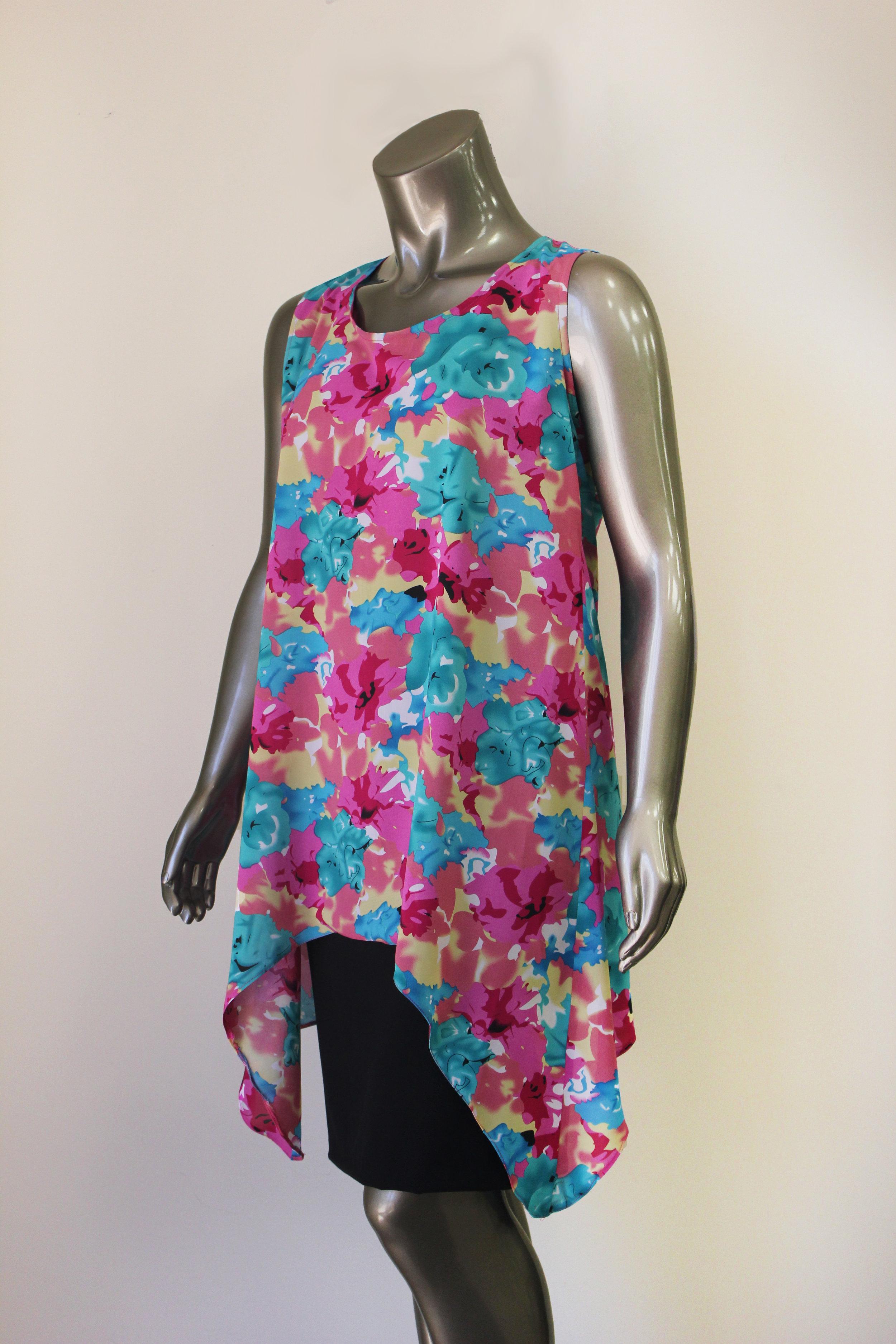 Long Floral Top - $99 CAD
