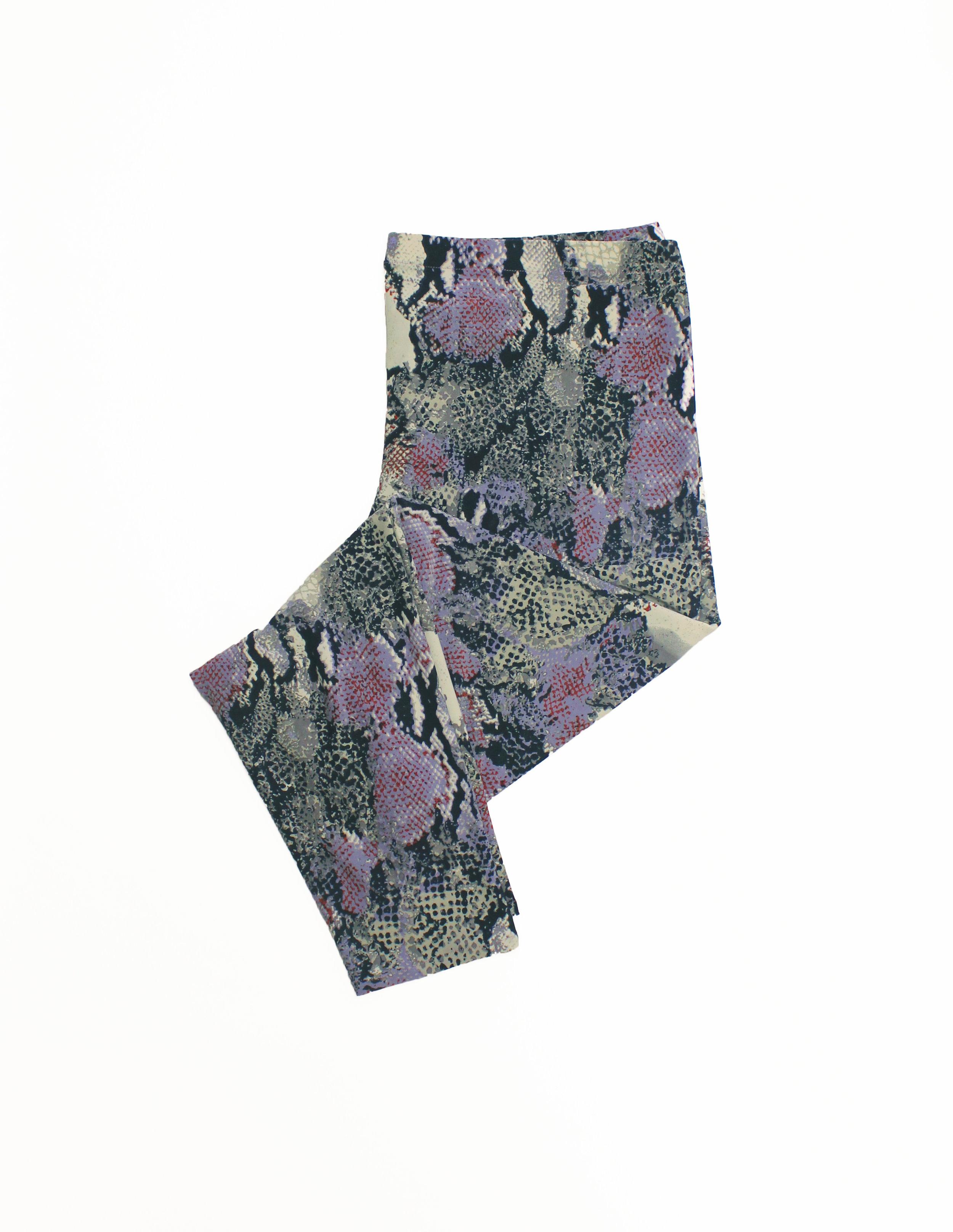 Print Purple Leggings - $77CAD