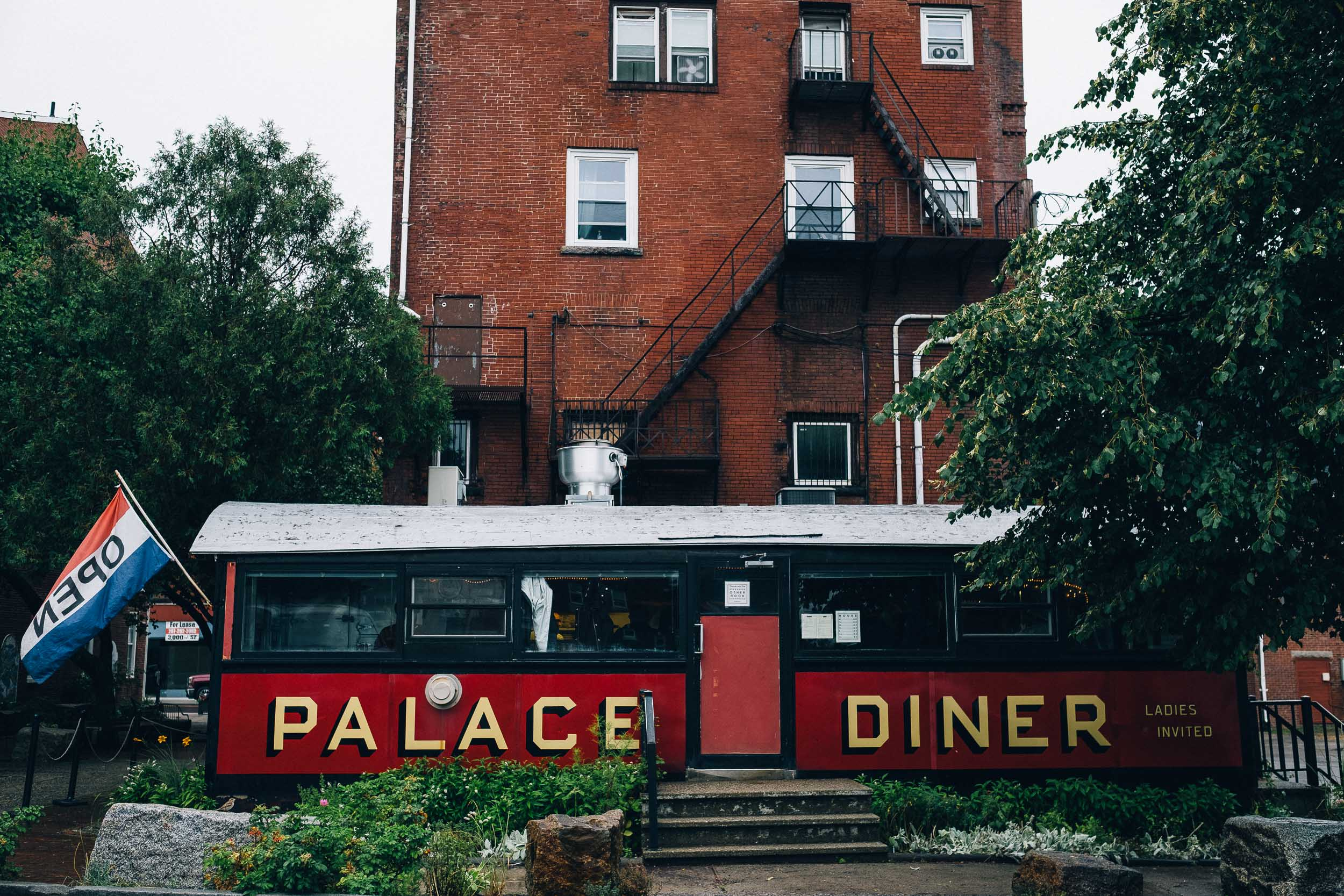 Palace Diner in Biddeford, Maine