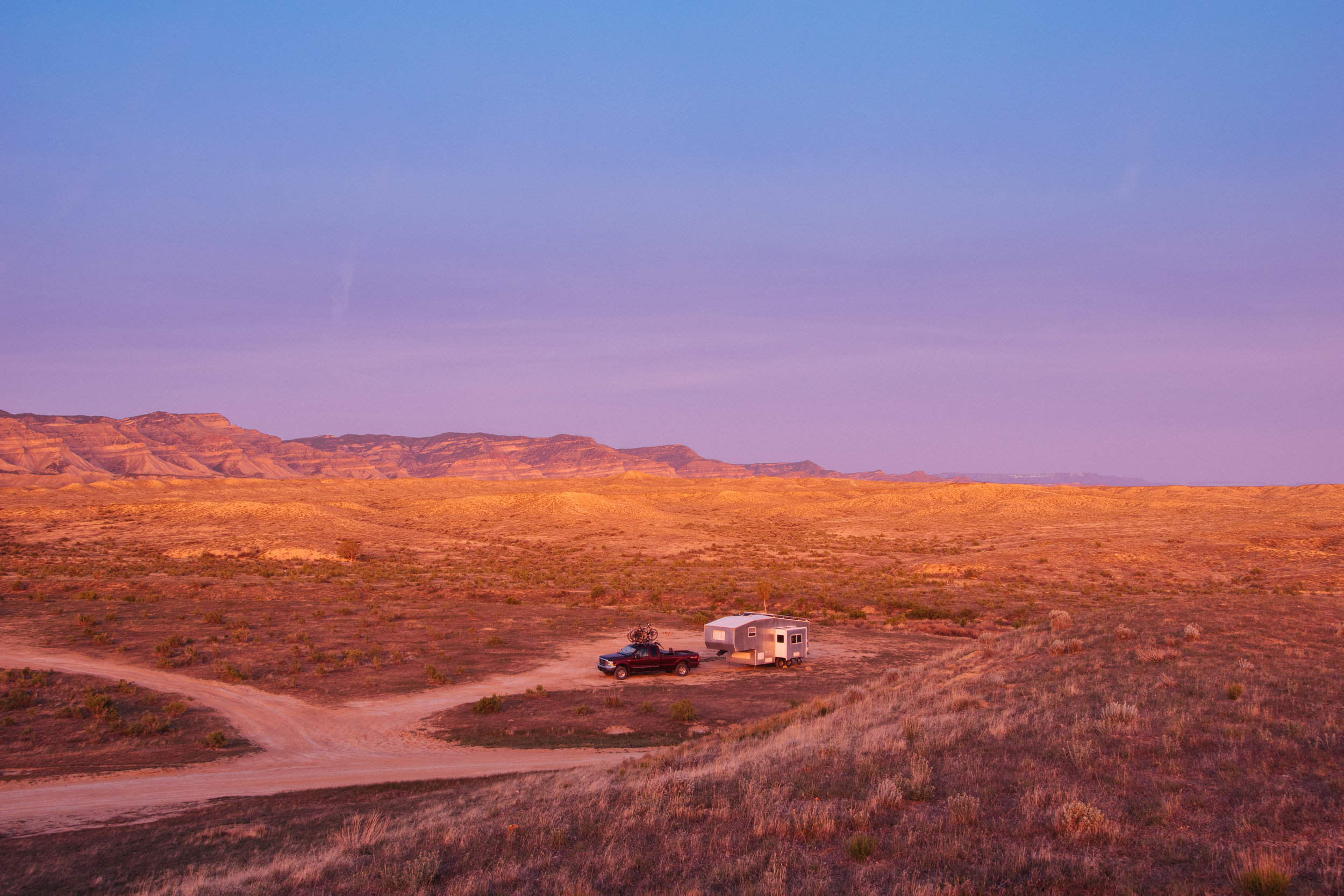 Boondocking means really getting away from the crowd; finding your own space using your own resources.