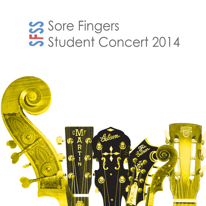 Artist:  Sore Fingers Summer School   Title:  Student Concert 2014   Credit:  Recording, Mixing, Mastering   Year:  2014