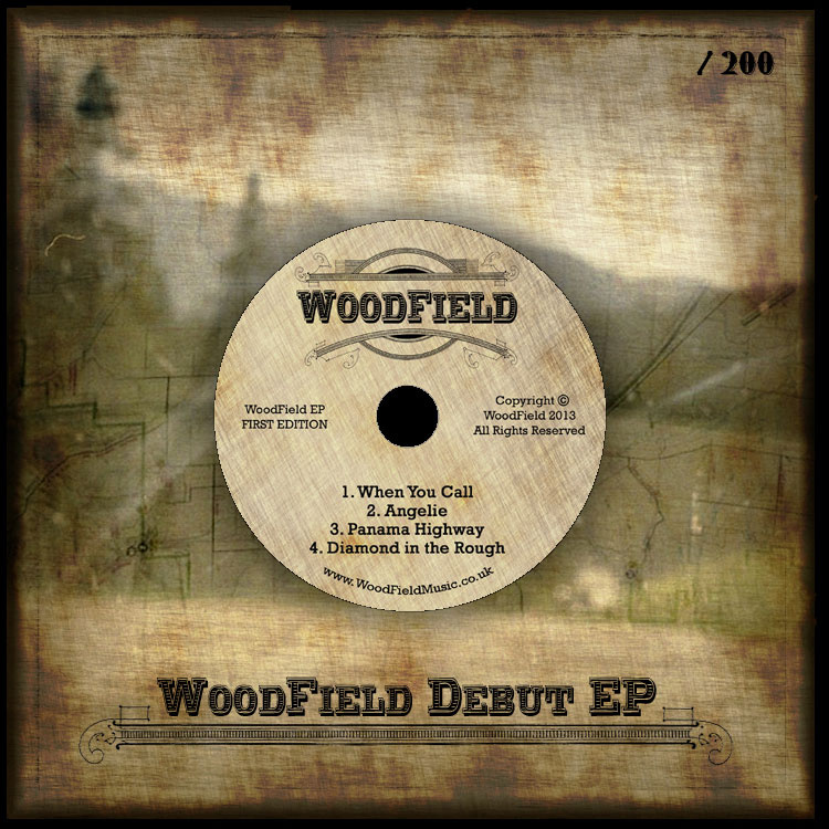 Artist:  Woodfield   Title:  Debut EP   Credit:  Performer (Drums), Mastering   Year:  2013