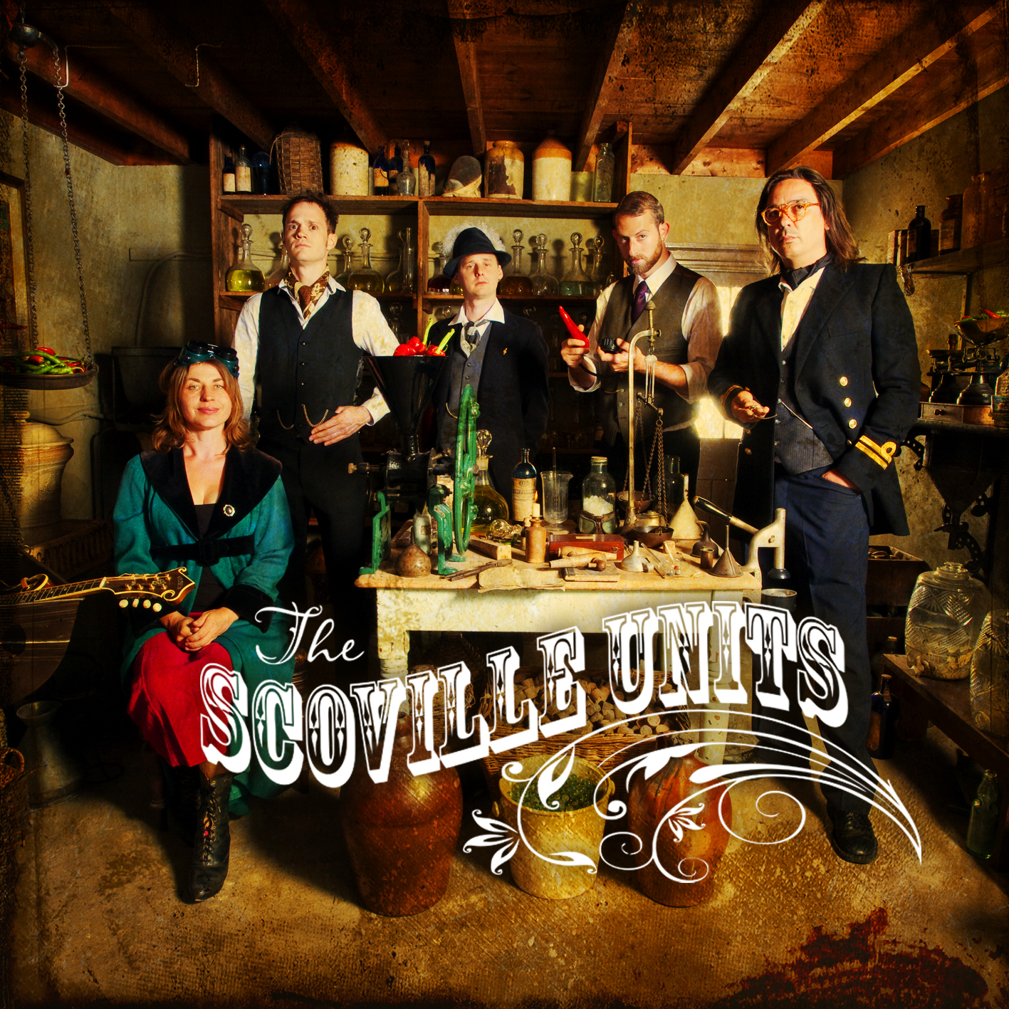 Artist:  The Scoville Units   Title:  The Scoville Units   Credit:  Performer, Co-Producer, Recording    Year:  2011