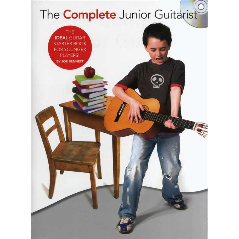 Author:  Joe Bennett   Title:  The Complete Junior Guitarist CD   Credit:  Performer, Recording, Mixing, Mastering   Publisher:  Music Sales Group   Year:  2008