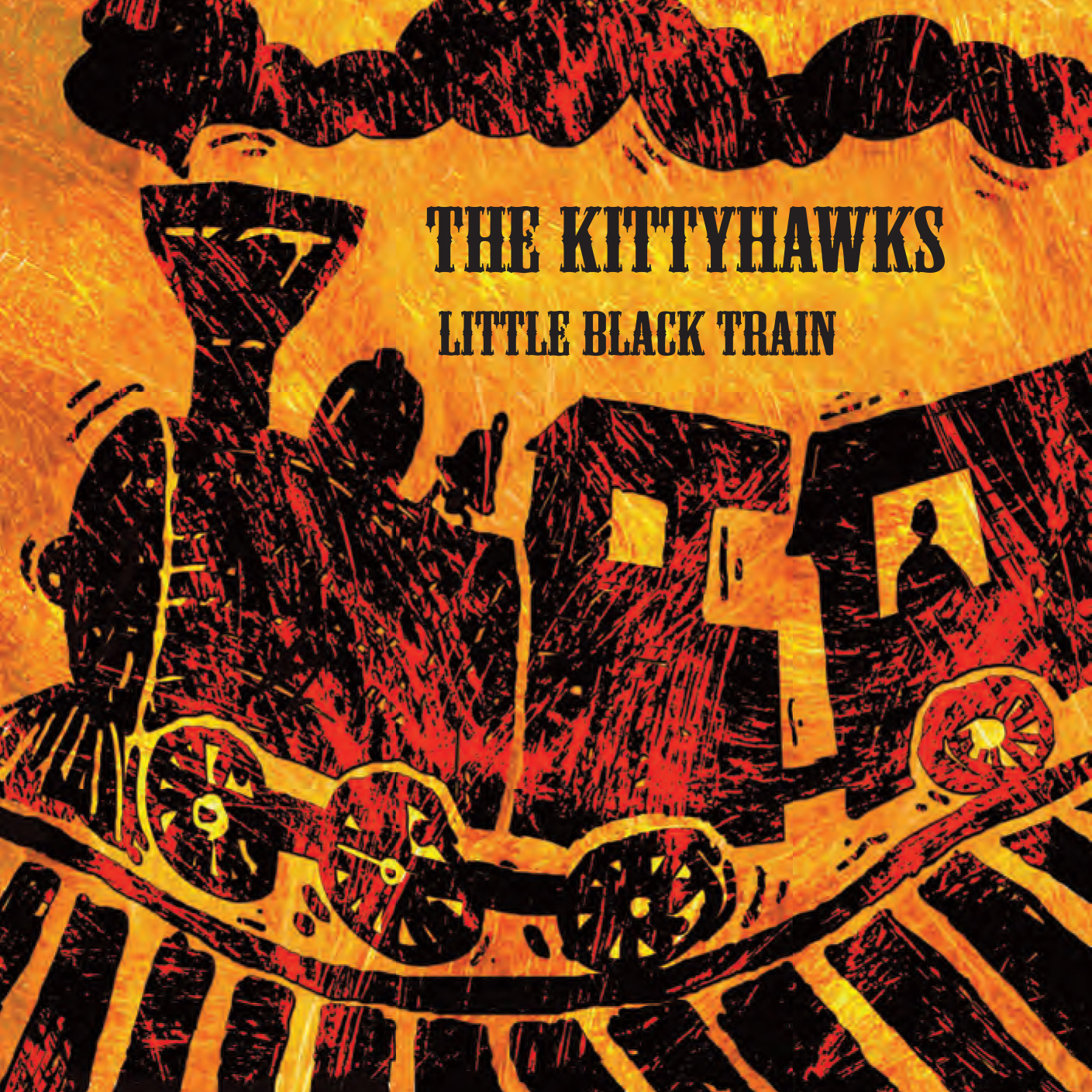 Artist:  The Kittyhawks   Title:  Little Black Train   Credit:  Recording, Mixing, Mastering   Year:  2008