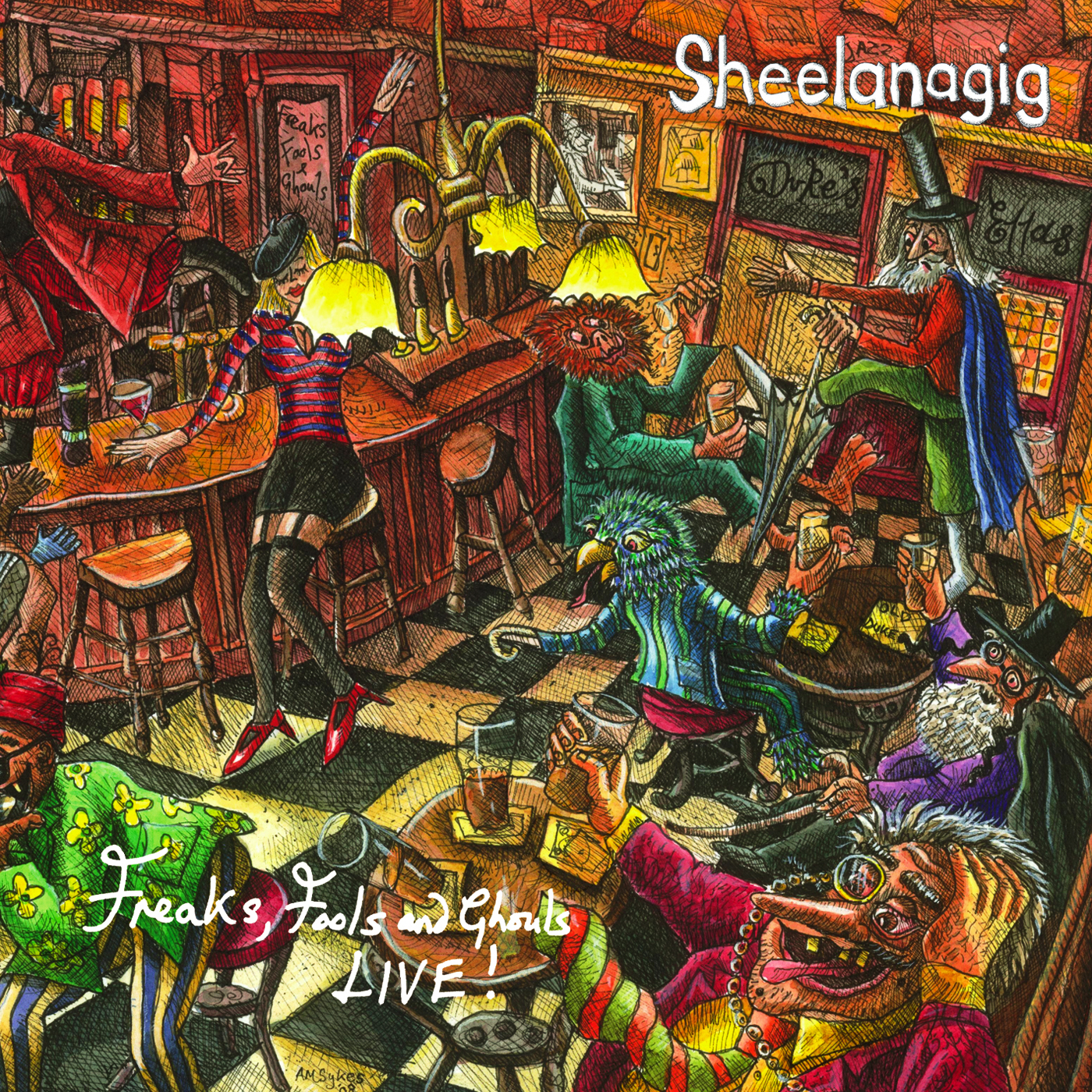 Artist:  Sheelanagig   Title:  Freaks, Fools & Ghouls LIVE!   Credit:  Recording, Mixing   Year:  2008