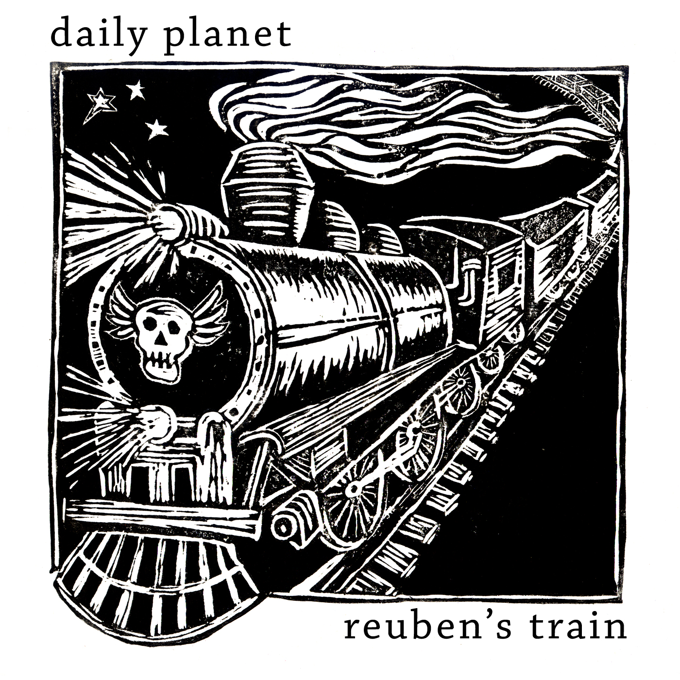 Artist:  Daily Planet   Title:  Reuben's Train (Single)   Credit:  Producer, Recording, Mixing, Performer (Percussion & Programming)   Year:  2007