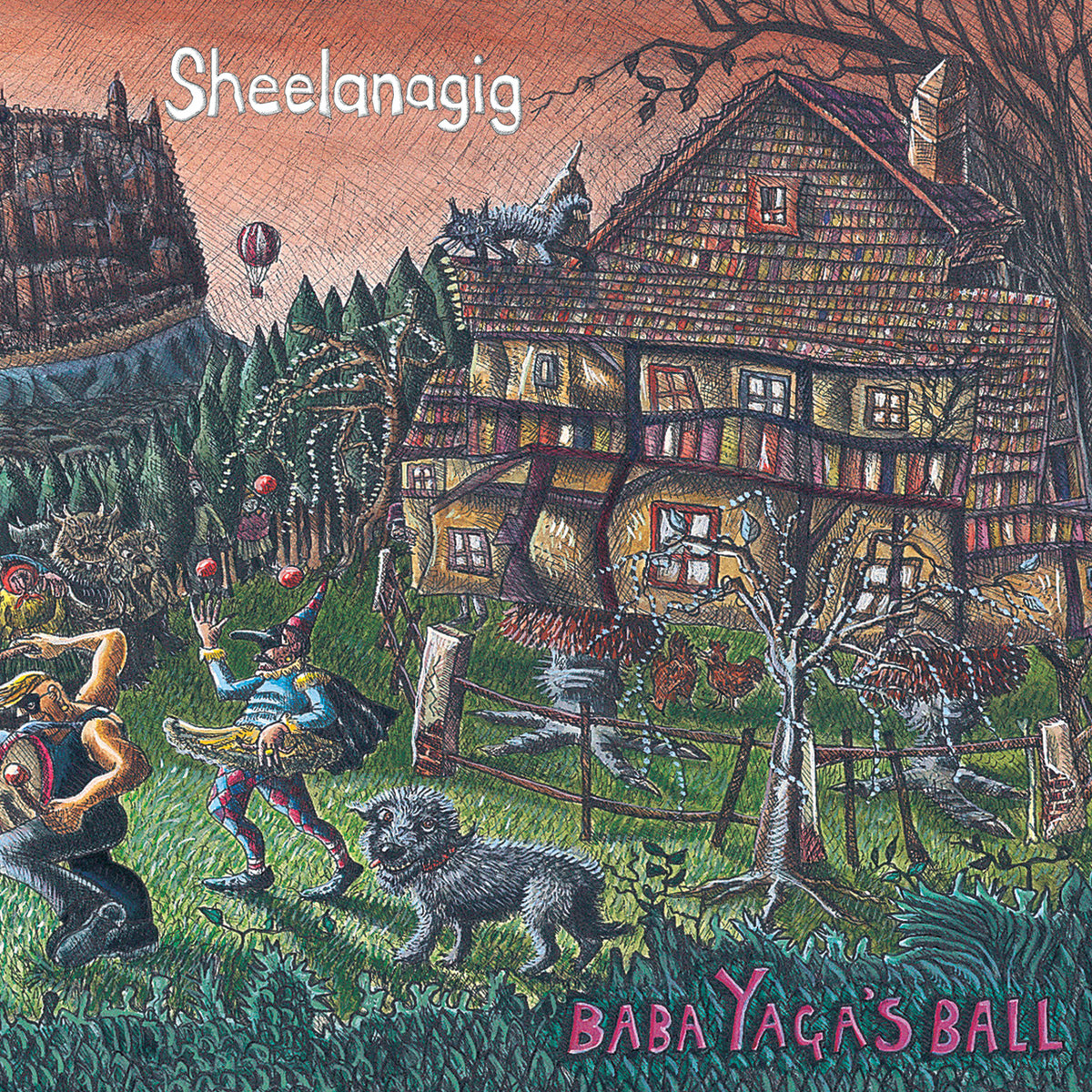 Artist:  Sheelanagig   Title:  Baba Yaga's Ball   Credit:  Producer, Recording, Mixing    Year:  2007