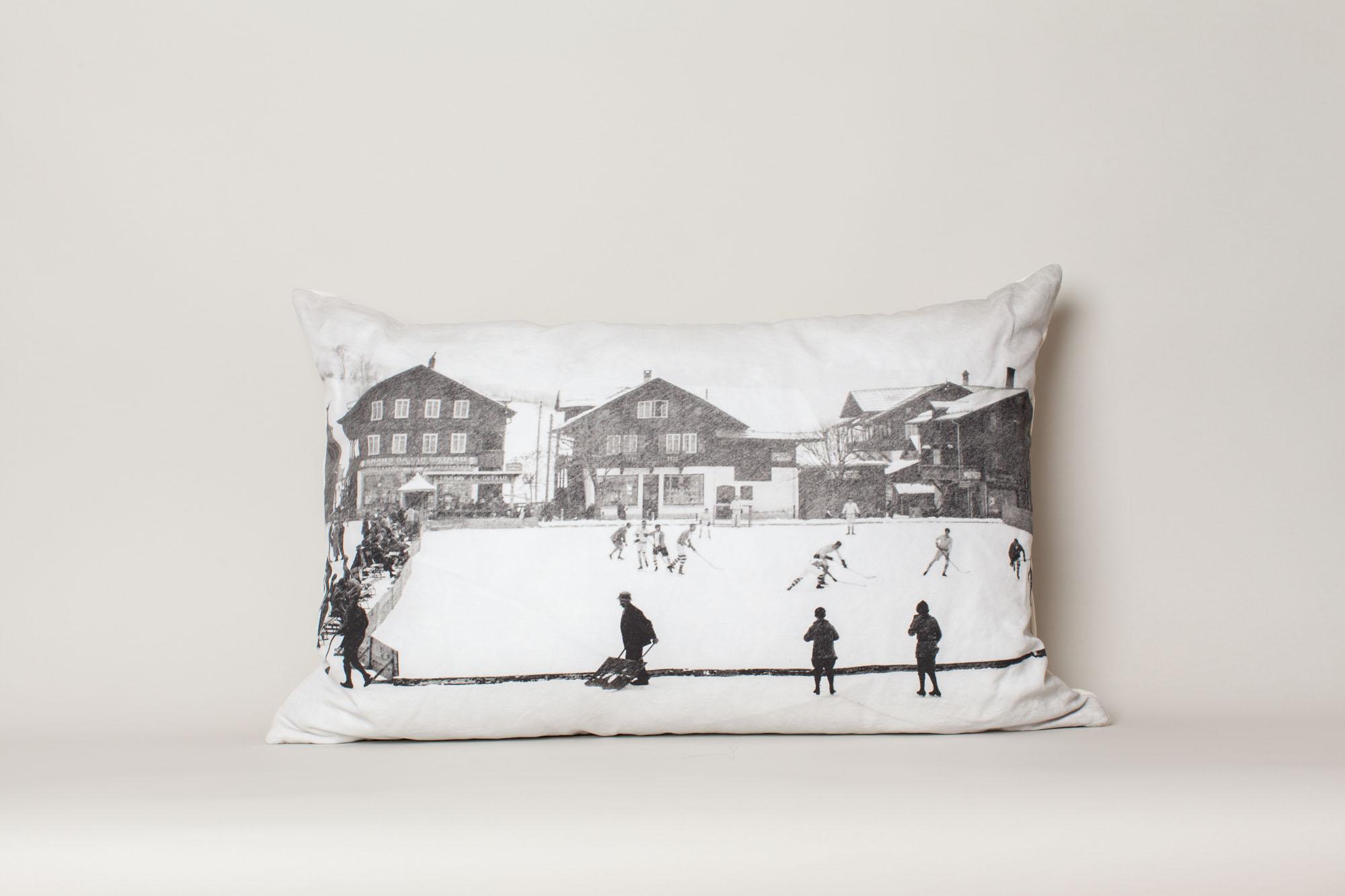 Hockey Team, Gstaad, Switzerland, 1924