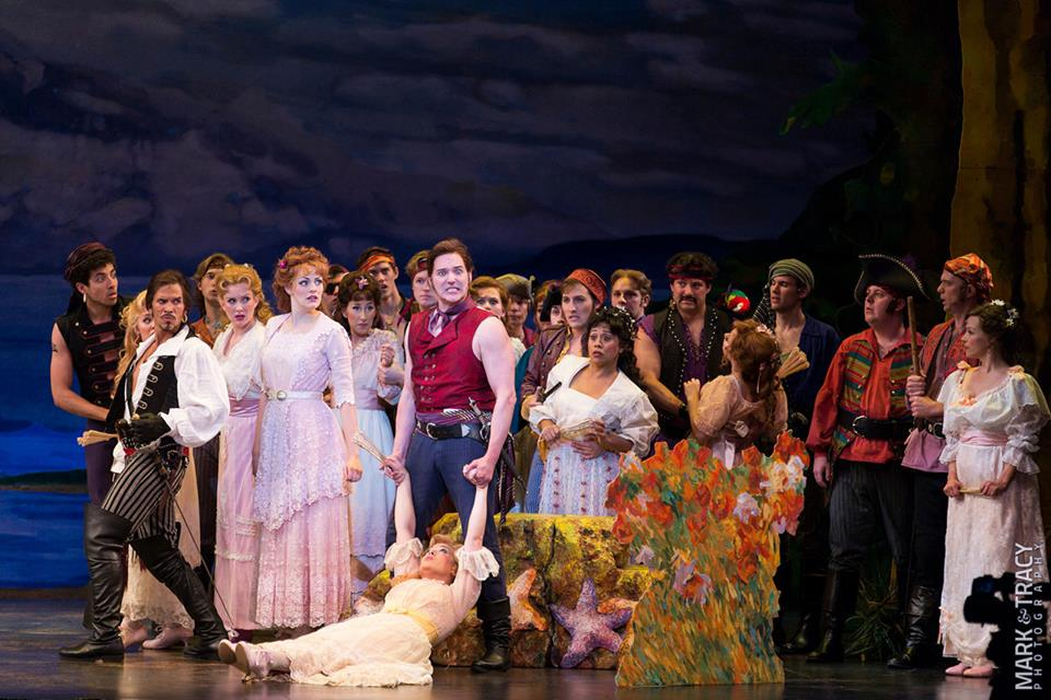 The Pirates of Penzance  at The 5th Avenue Theatre. Photo by Mark Kitaoka