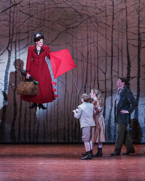 Mary Poppins  at Village Theatre. Photo by Mark Kitaoka