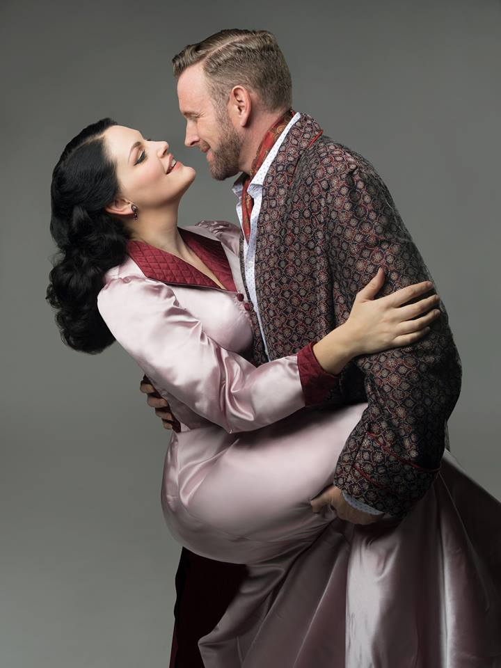 Promo Photo for  Kiss Me, Kate  at the 5th Avenue Theatre. Photo by Mark Kitaoka