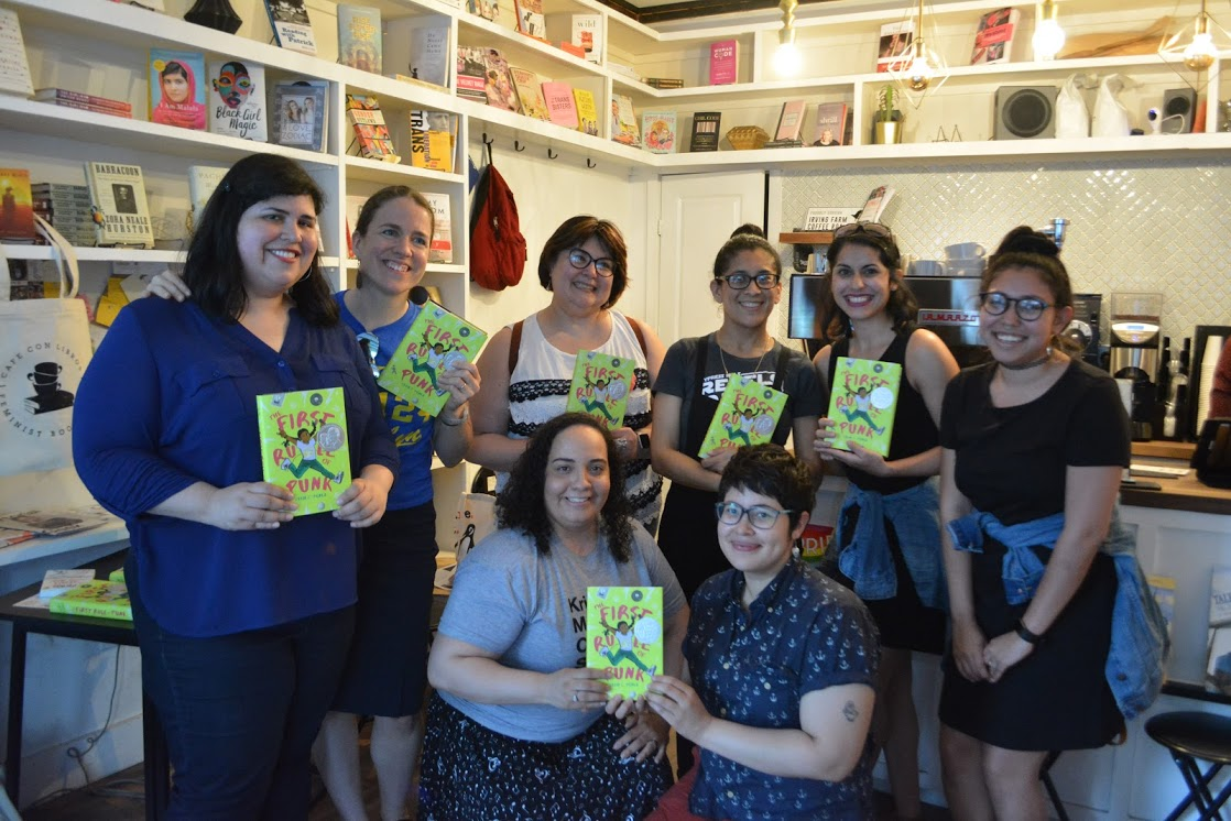 Latinas in kidlit at Cafe con Libros in Brooklyn.