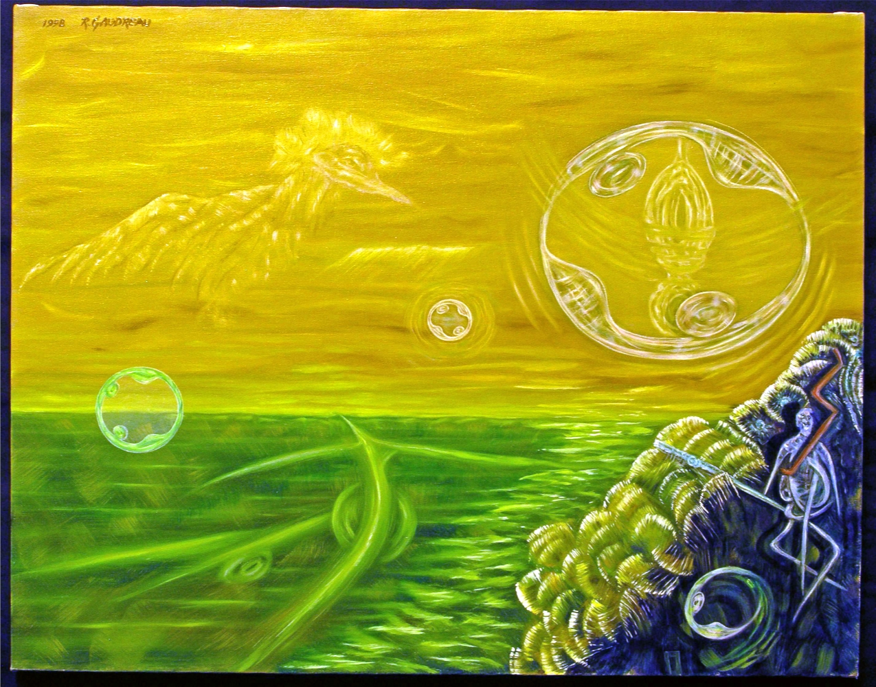 Process of Unity    1998 oil on canvas 22 x 28 inches