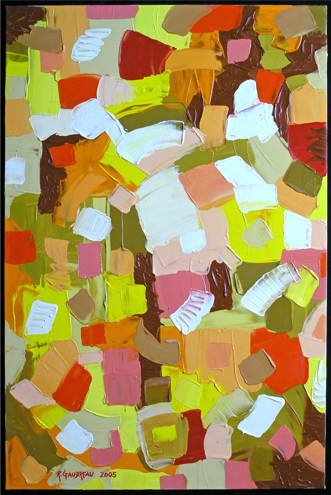 Blood Flesh and Bone  2005 oil on canvas 36 x 24 inches