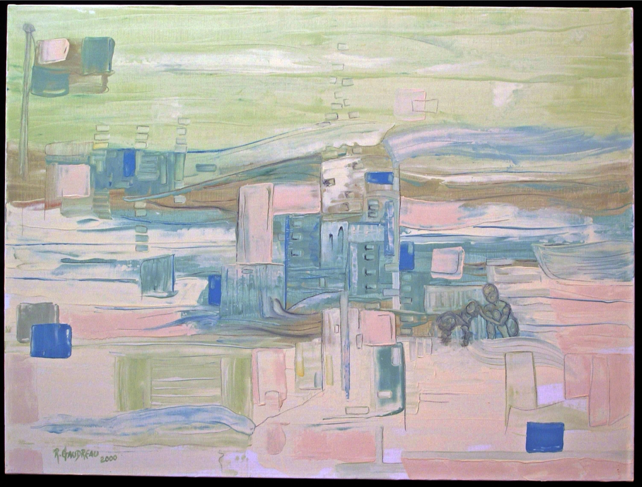 Not to be forgotten   2000 oil on canvas 30 x 40 inches