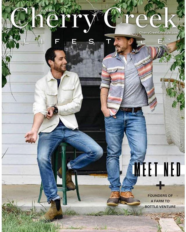 Honored and a bit surreal to be on the cover and in the pages of @cherrycreeklifestyle Thank you for giving us the platform to share the story of Ned and who and where our products come from! 🙏 Grateful also to @ryanmichaelscheer and @kaytedemont for the amazing 📸