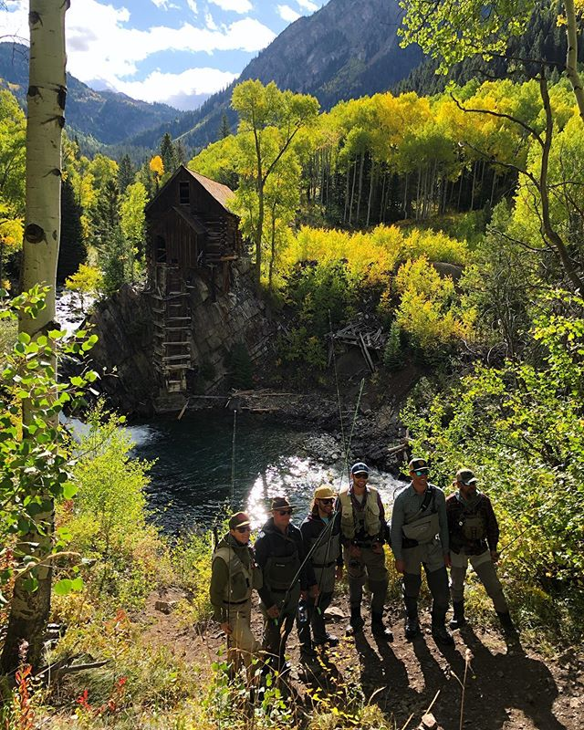 Always special spending time in my favorite place, Crystal, CO. With this crew, these colors, and all the cutthroat in the net it was all-time! 🏕 🎣 🍁