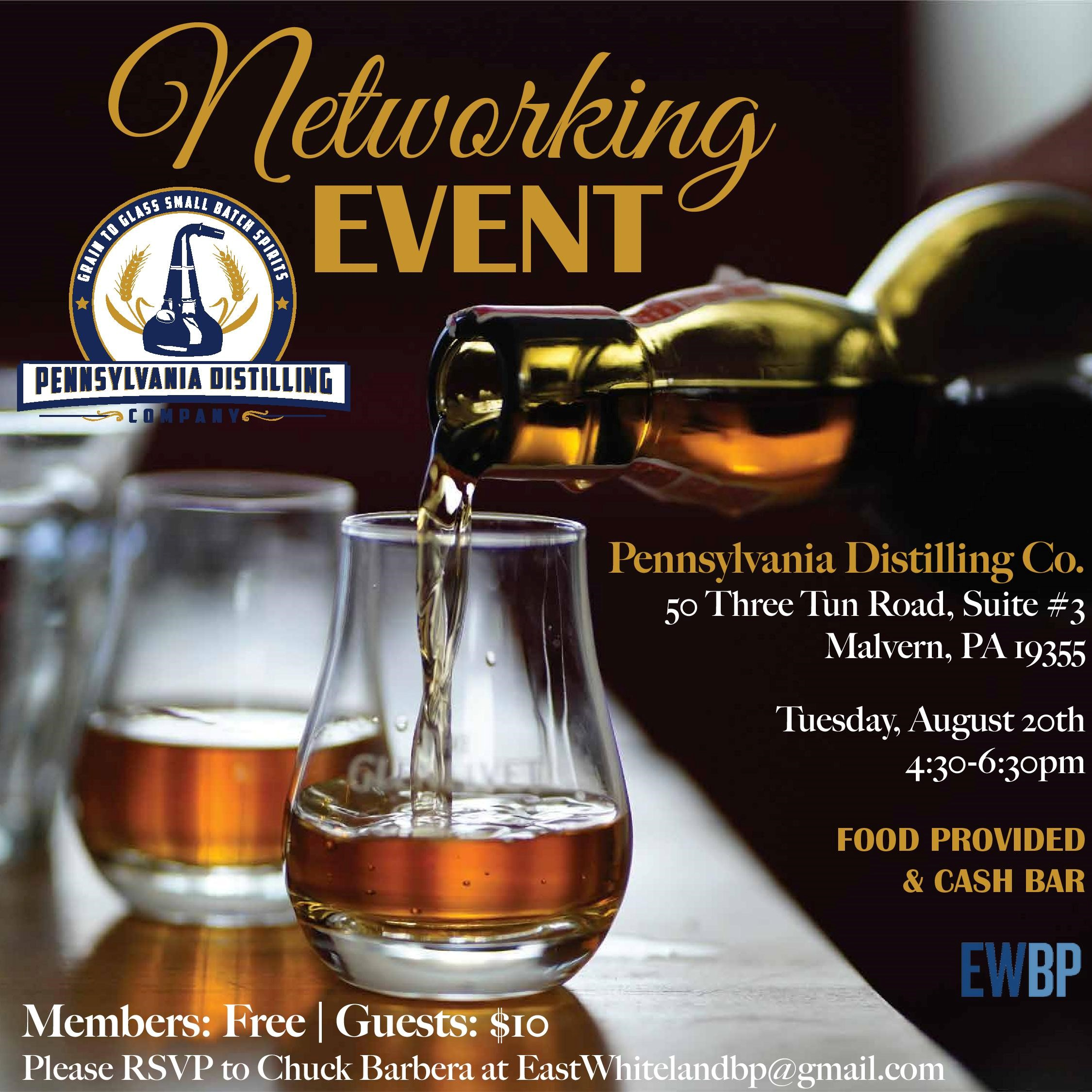- Join us for networking over a great cocktail!