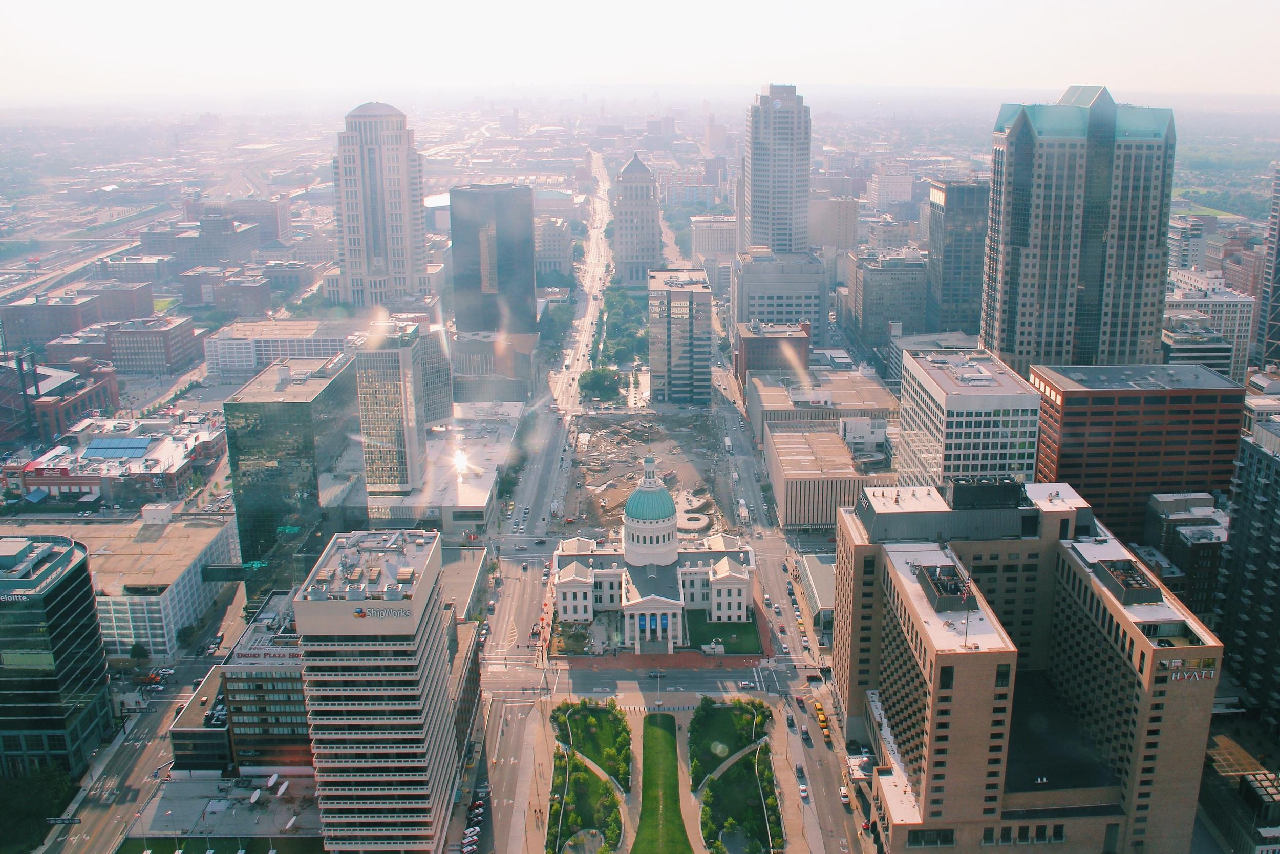St. Louis...check.