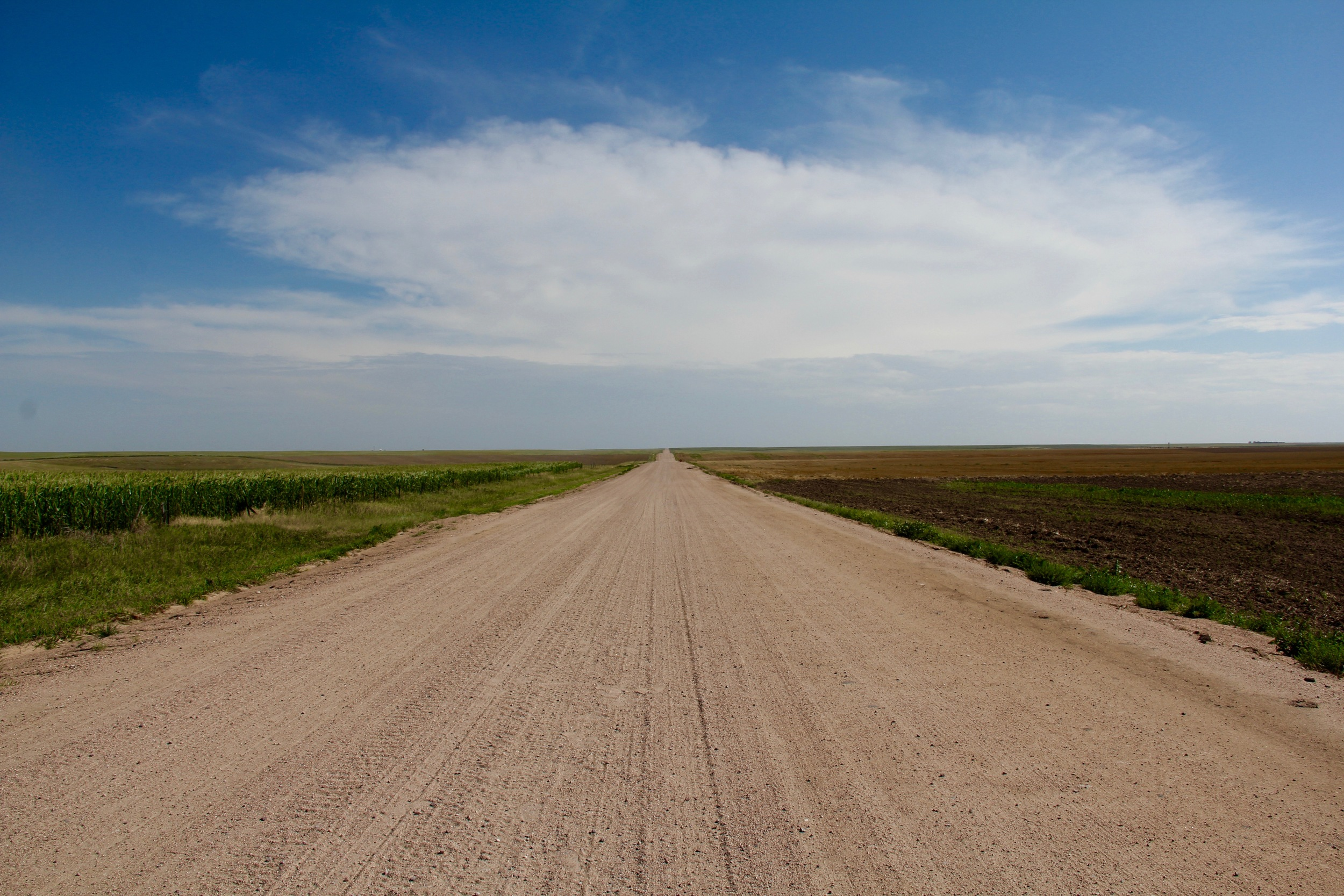 We stopped in Kansas to document the nothingness.