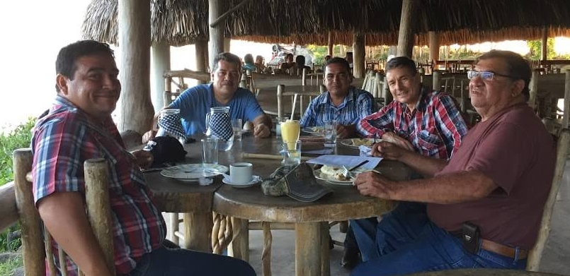 Cesar and I met with leaders from El Estor who are starting new Christian Rancher groups. This region has many ranches near Lake Izabal.