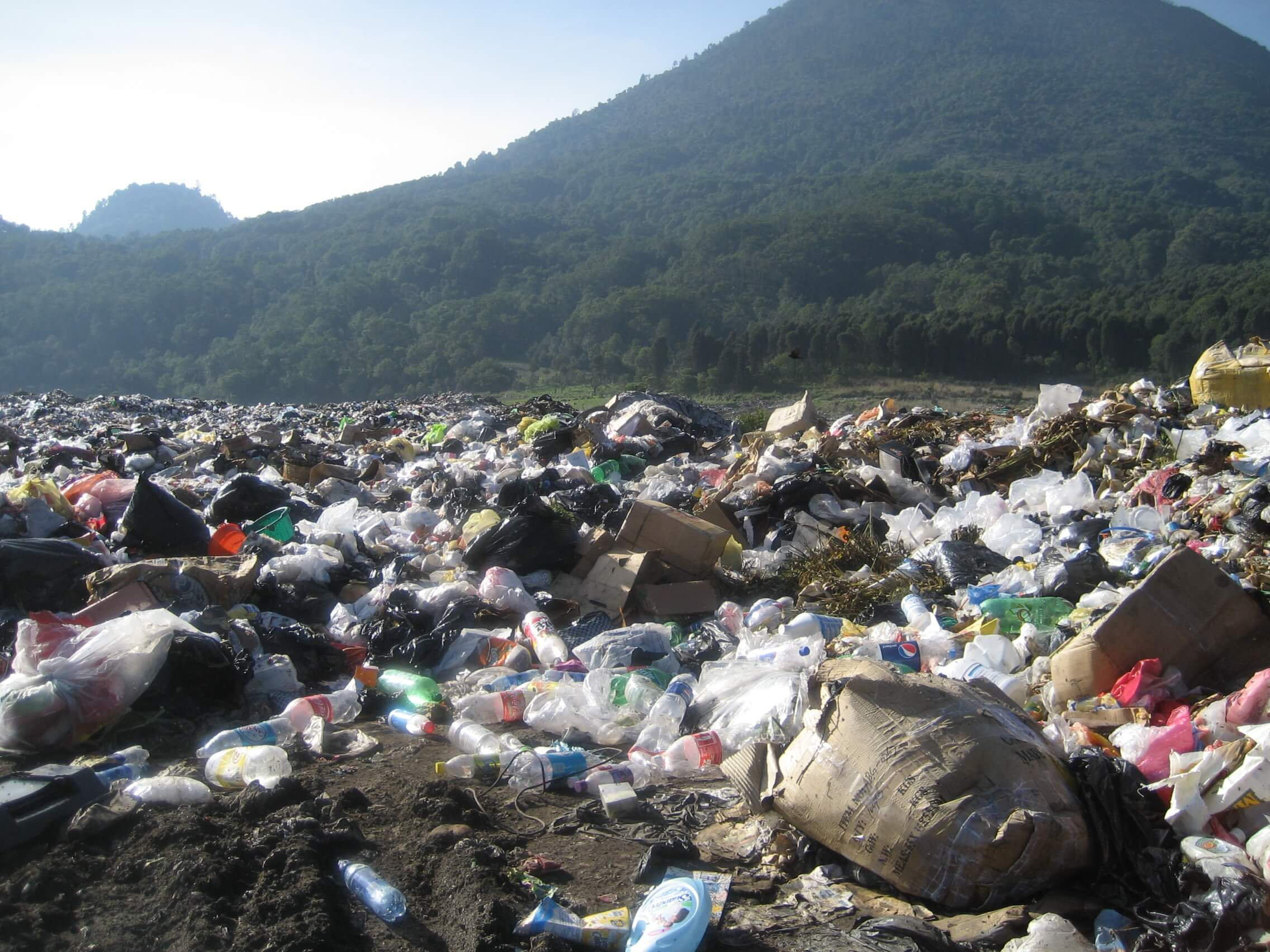 In most smaller villages in Guatemala, there is no garbage dump or designated place to throw trash. This has polluted many of their streams, rivers, and water-ways.