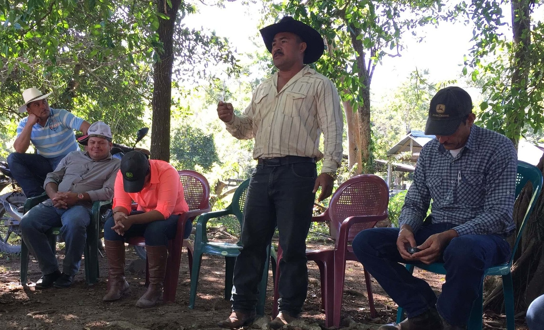 """David, a rancher from Poncaya, Honduras, shares his first act of obedience to Jesus in a Christian Rancher group.""""I'm not going to kill anybody!"""""""