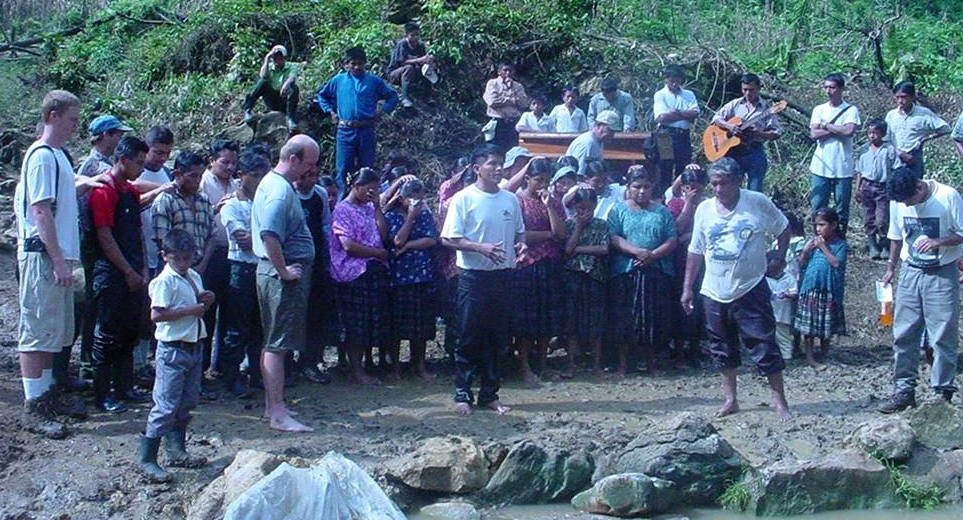This is one of my favorite jungle pictures of all time. It captures a new church reflecting on the significance of the baptisms they have just witnessed.