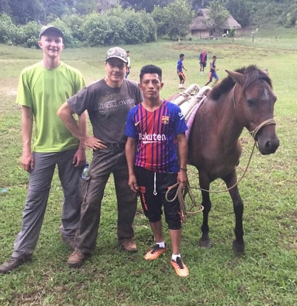 Once we made it to Ochul Choch, our friends wanted to see if we were interested in riding a horse and then playing soccer!