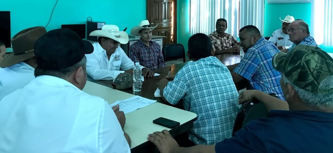 In our meeting with the leadership of the Cattlemen's Association, they were enthusiastic about what we are doing with Christian Rancher groups and asked if we could help them start a group on their premises. You might notice Adonay seated to my left.