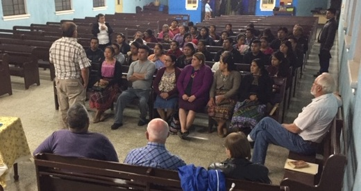 Play.Story.Eat. training with pastors and leaders in Guatemala City.