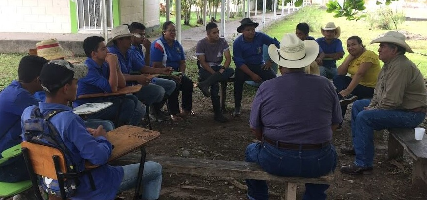Two professors from the university convened a group of students that they thought might be interested in hearing our story of working with the National University of Agriculture in Catacamas, Honduras, and Christian Rancher groups.