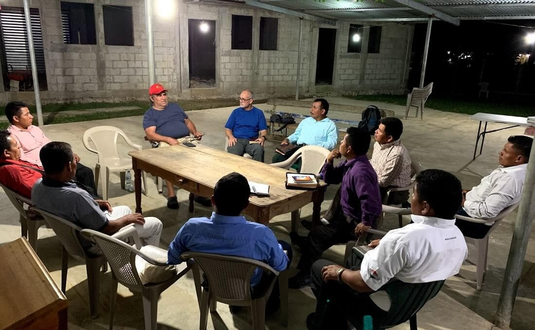 One evening, Cesar and German had a group of pastors meet us so that they could meet Todd and hear more of our Play. Story. Eat. methodology. Todd spoke to the men from 2 Corinthians 3:4-6 when Paul speaks about how our competence comes not from ourselves, but from God.