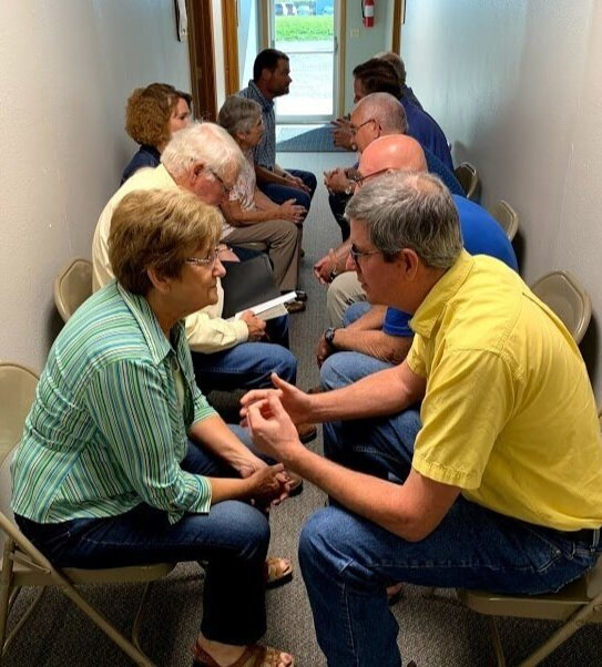 In the PSE training, the wagon train drill offers a quick and effective way to practice initiating spiritual conversations.