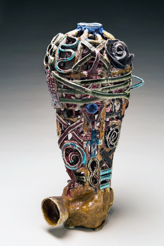 Vase Cage, 2013