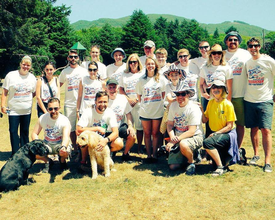 The 2015 Team Firecracker.
