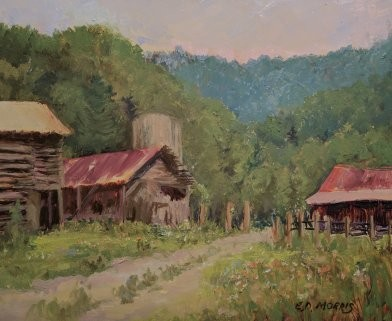 Reeves Home Place Farm (plein air)