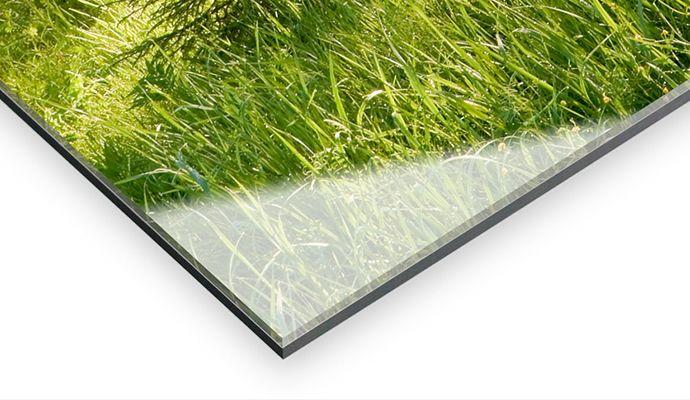 Mounting under Acrylic Glass