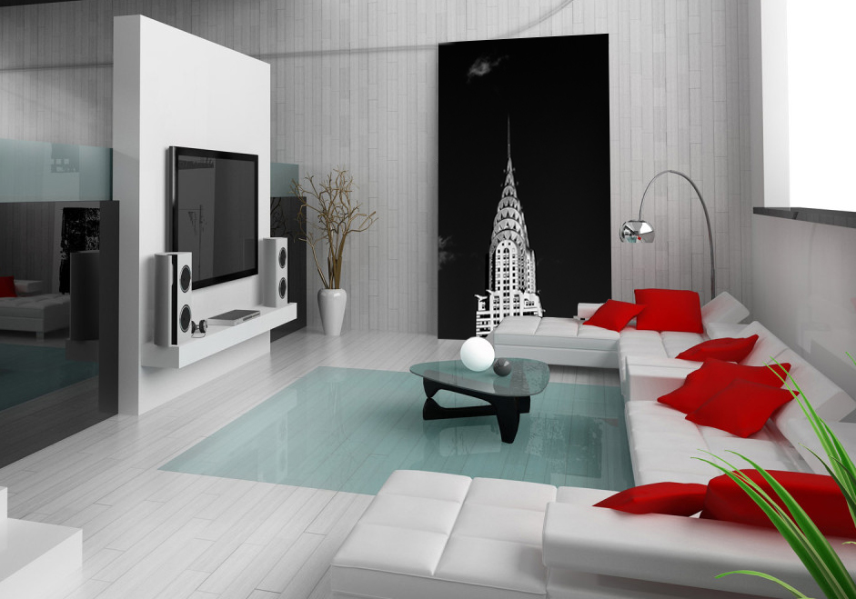 Chrysler Building in Black and White / 40x85 inches / open edition