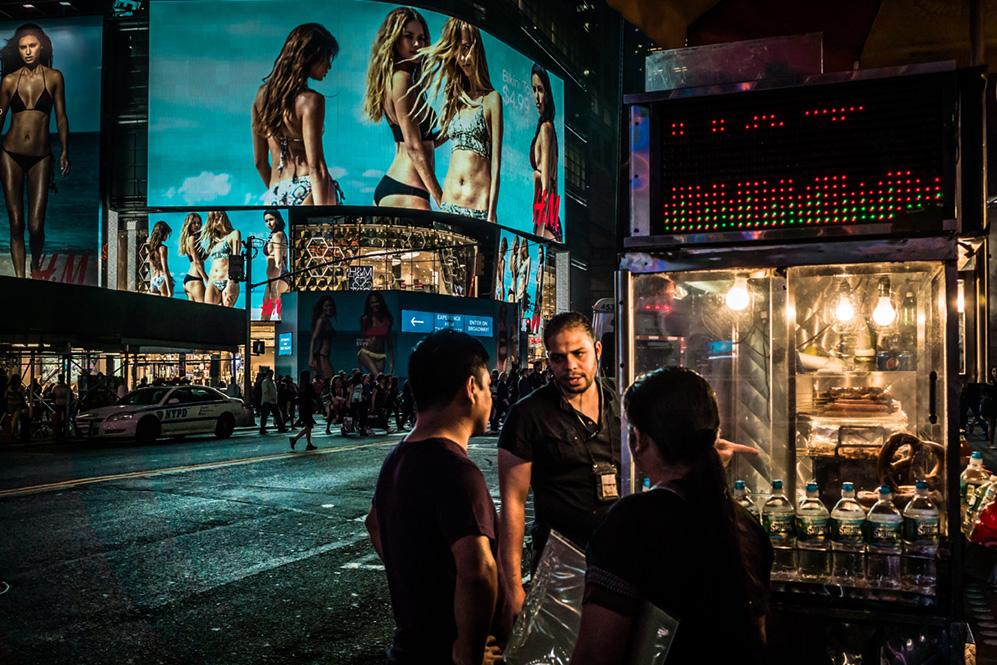 Time Square vendor / 2015