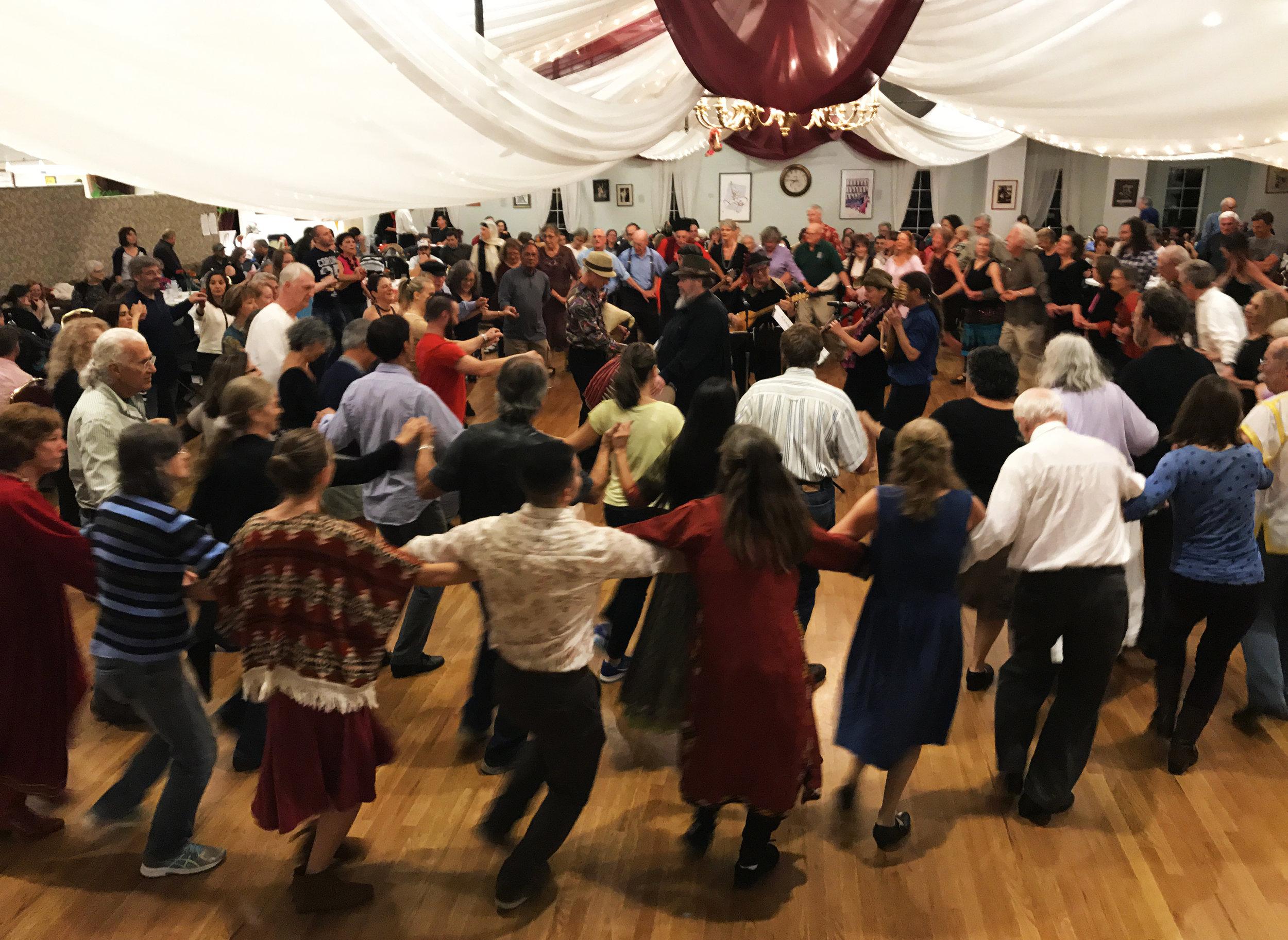 Boulder Balkan Bash 2016: the crowd dances to the Bitovniks