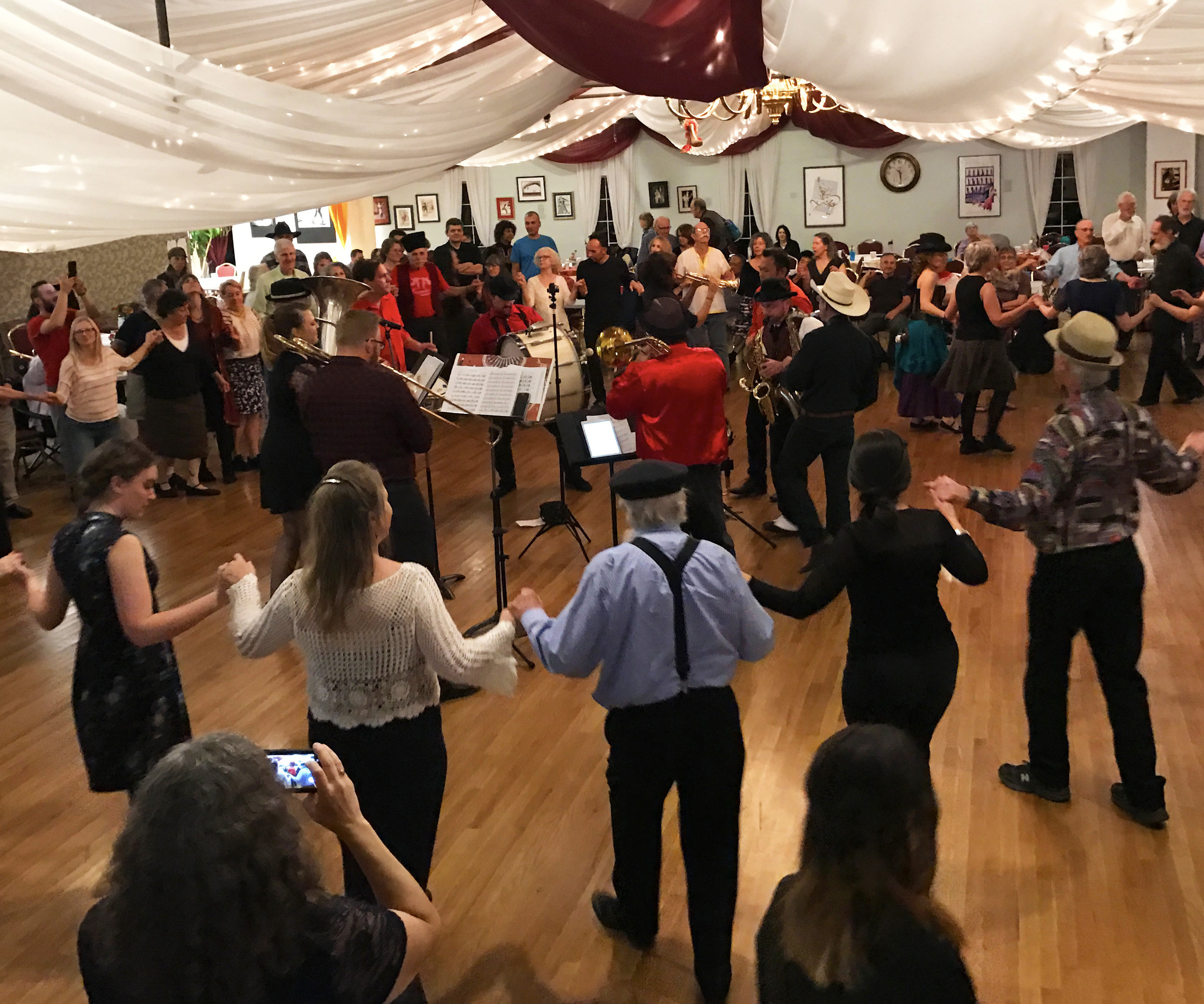 Boulder Balkan Bash 2016: Gora Gora Orkestar and dancers