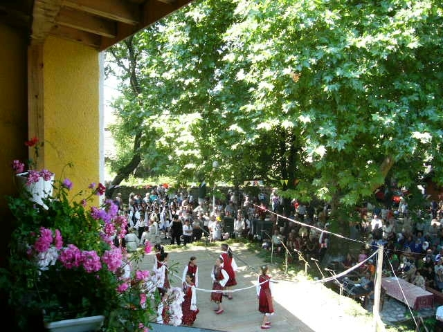 Bulgaria 05 201-Balcony View of Dorkovo Festival.JPG